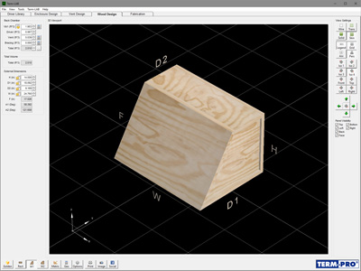 wood design 3d image