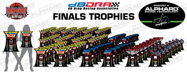 2016 dBDRA Trophies