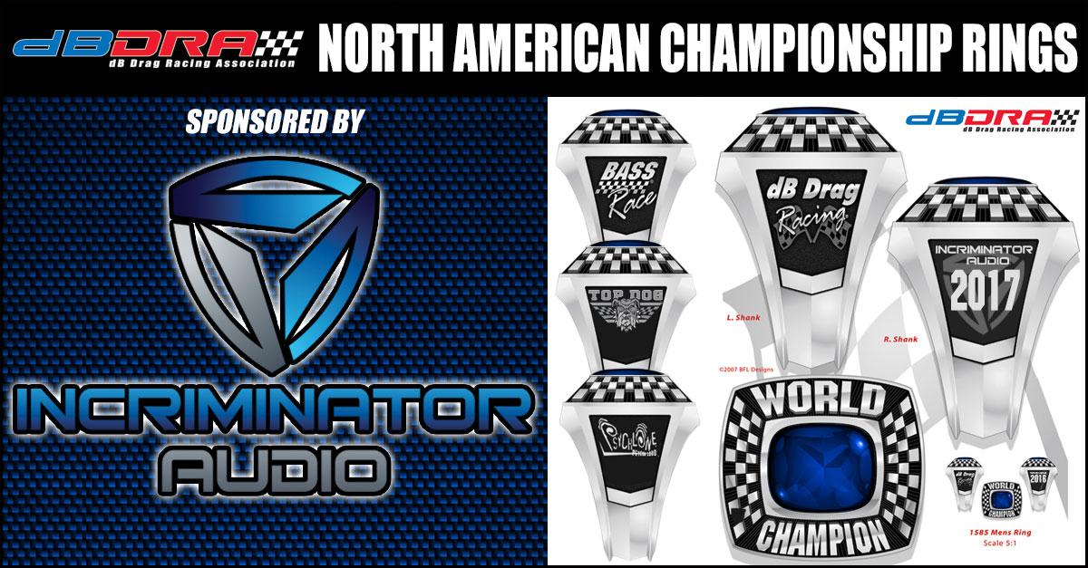 Incriminator Audio Sponsors 2017 North American Rings