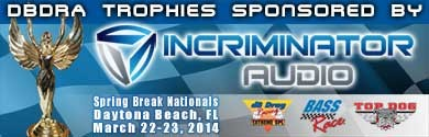 Trophies sponsored by Incriminator Audio