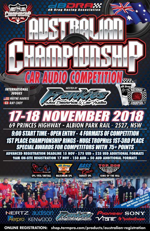 2018 Australian Championship