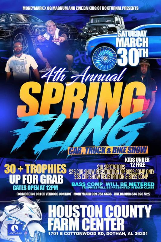 Spring Fling 2019 Presented By: Nokturnal Car Club
