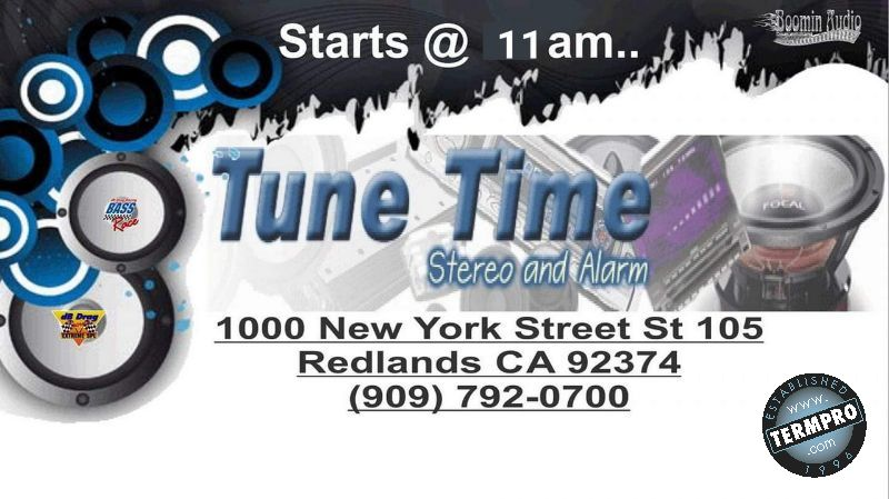 Tune Time Stereo & Alarm