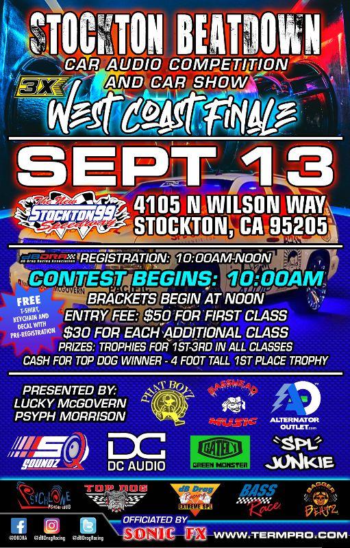 Stockton Beatdown Car Audio Competition / Car Show