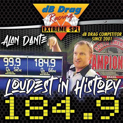 alan dante is the loudest on earth!