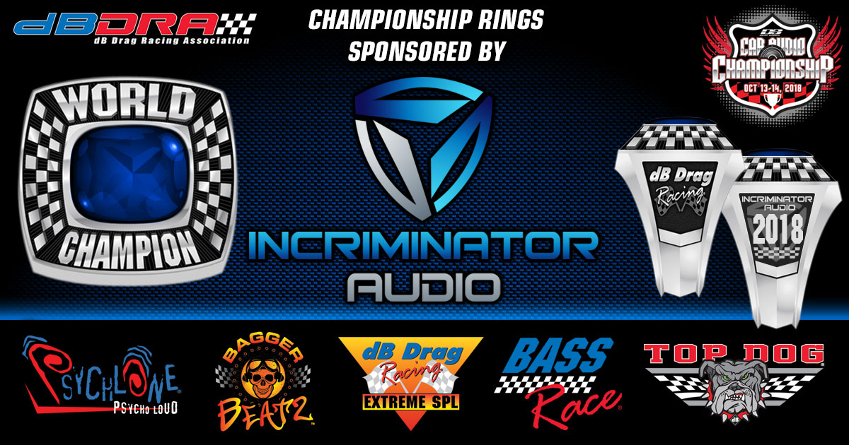Incriminator Audio Sponsors 2018 North American Rings
