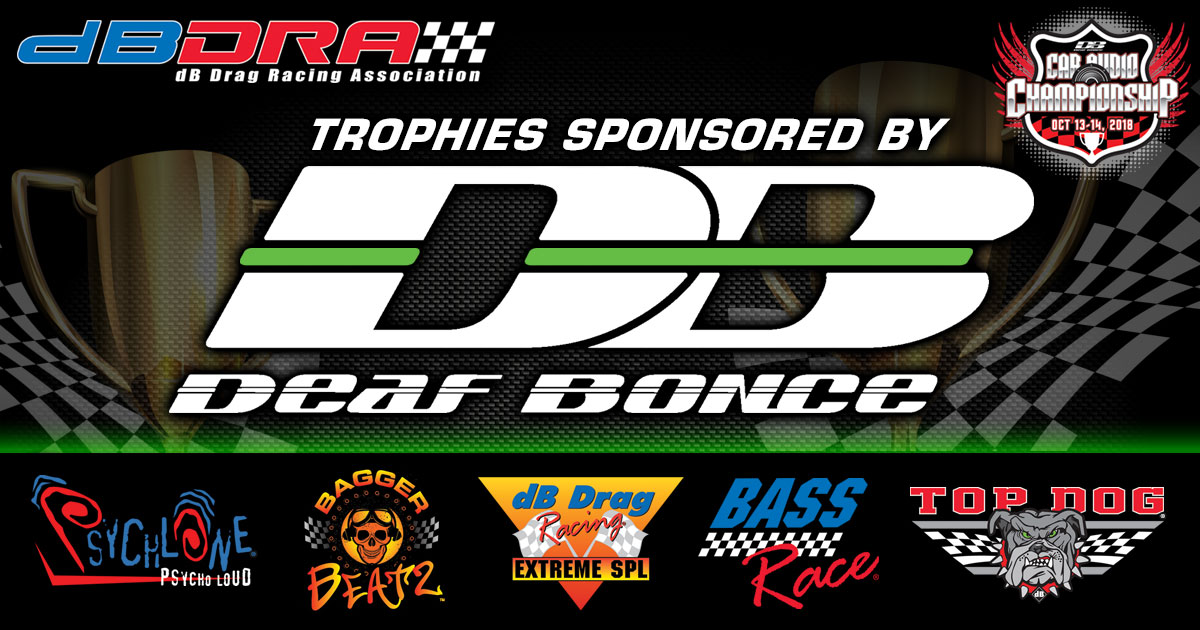 Deaf Bounce Sponsors 2018 Trophies