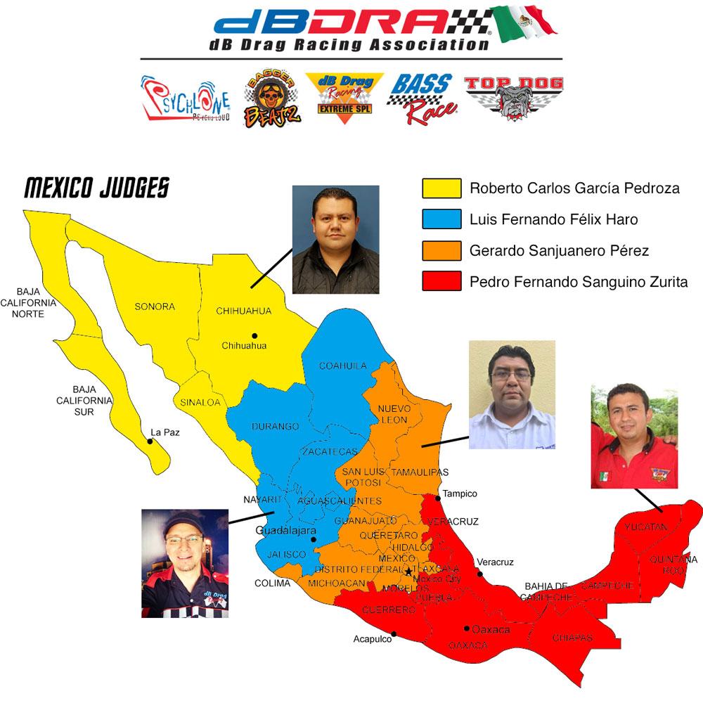 dBDRA Mexico Map