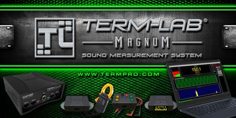 Termpro, db drag racing, spl meter, spl car audio, loudspeaker