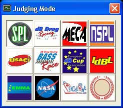 Judging Mode Selections